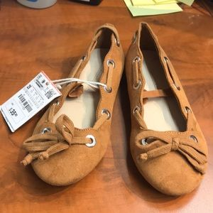 Other - 😃Zara Brown Suede Girl Shoes